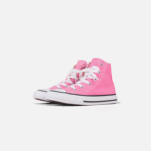 Converse Kids Chuck Taylor All Star High - Pink / White Image 2