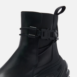 1017 Alyx 9SM Low Buckle Boot with Fixed Sole - Black