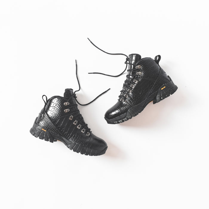 1017 ALYX 9SM Hiking Boot - Black Croc