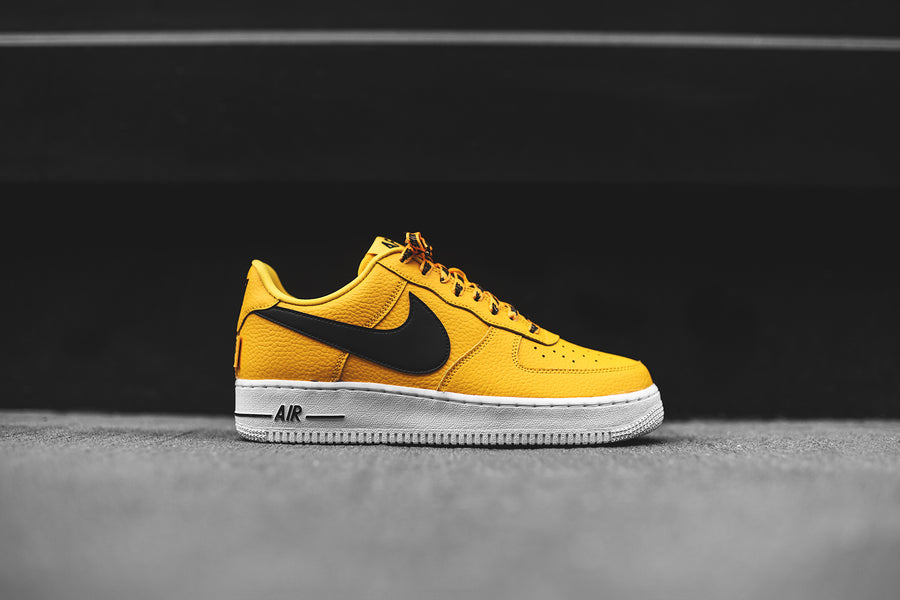 Nike x NBA Air Force 1 LV8 - Yellow / Black