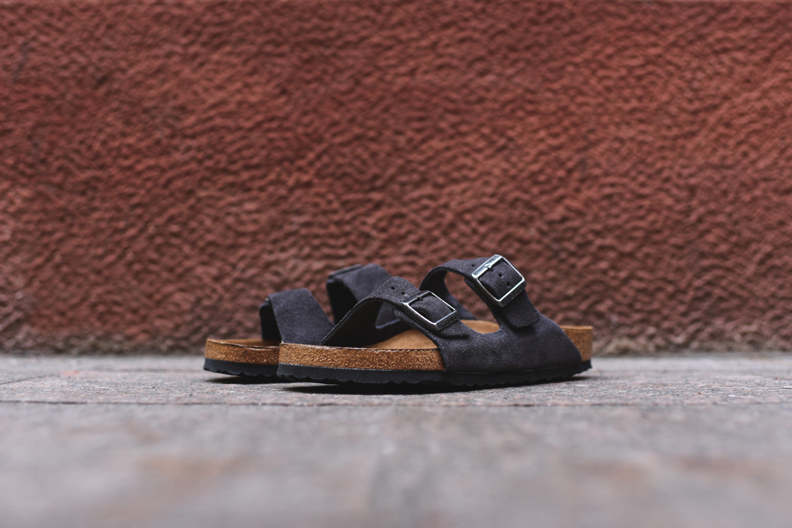 Birkenstock Arizona Soft Footbed - Velvet Gray Suede