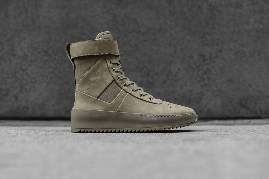 Fear Of God WMNS Military Sneaker High - Green