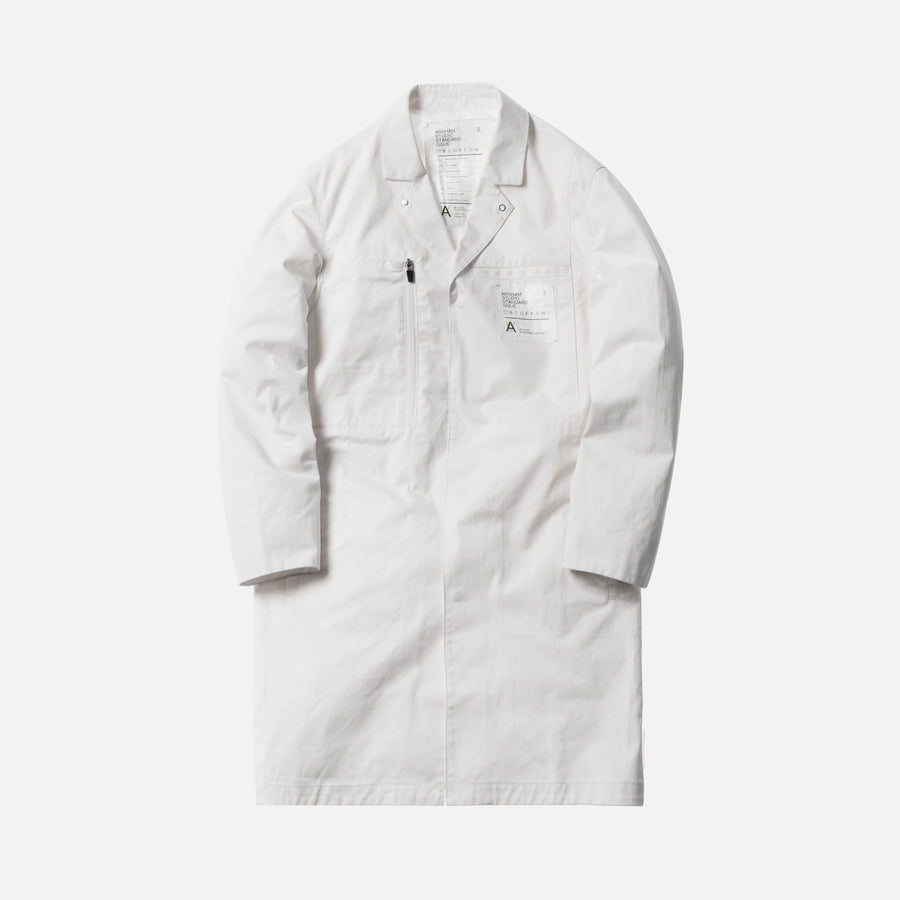 Kith x Arsham Studio Standard Issue Lab Coat - White