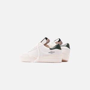 Article No Casual Runner Sneaker - White / Viridian