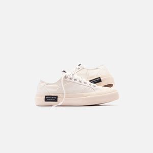 Article No Lo-Cut Vulcanized - White