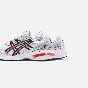 Asics Gel-1090 - White / Black / Red Image 5