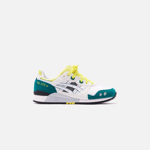 Asics Gel-Lyte III OG - White / Yellow Image 1