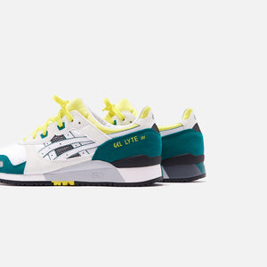Asics Gel-Lyte III OG - White / Yellow Image 4