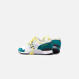Asics Gel-Lyte III OG - White / Yellow Image 3