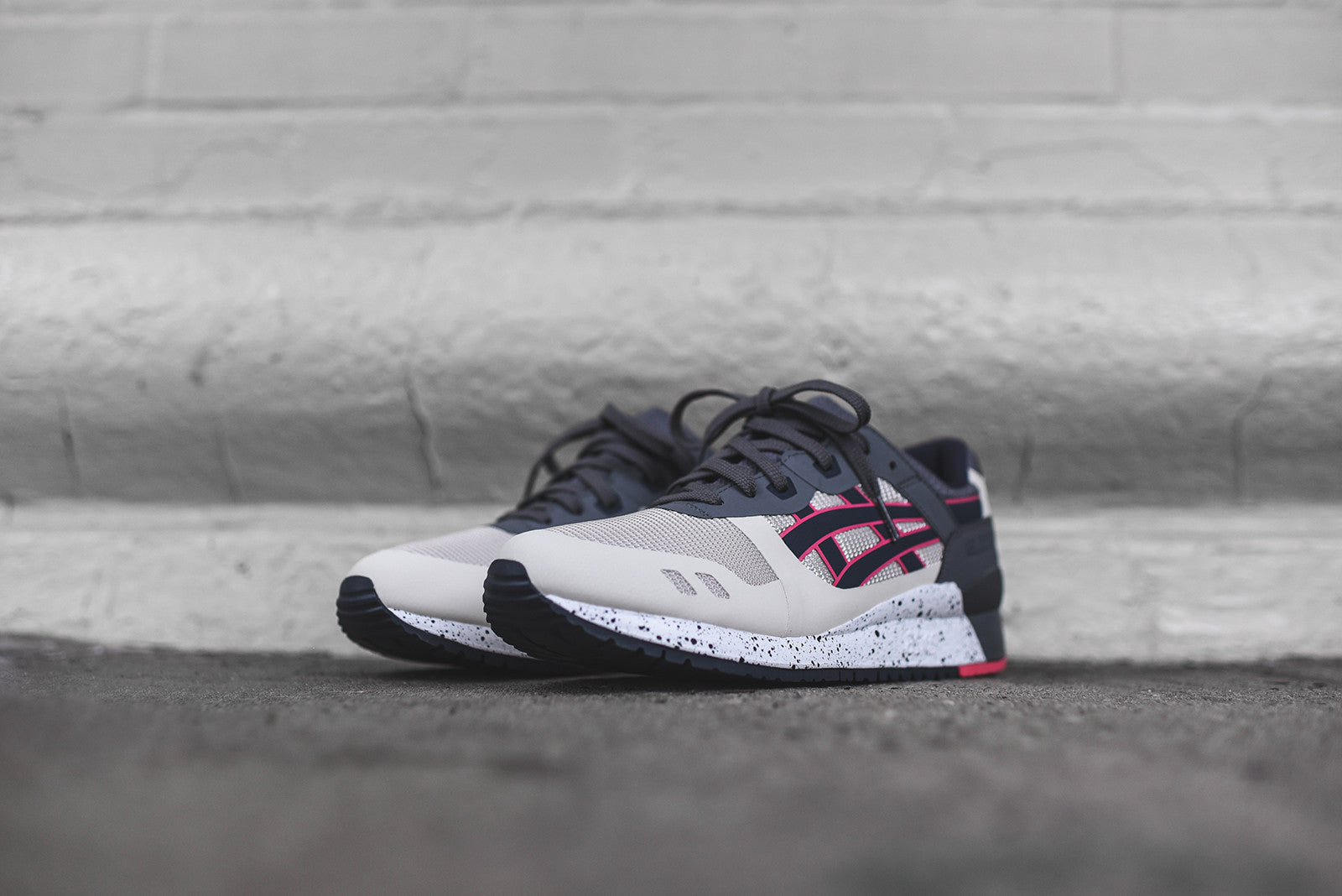 Asics Gel Lyte III NS - Off White / India Ink