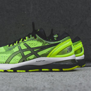 Asics Gel-Nimbus 21 - Safety Yellow / Black Image 5