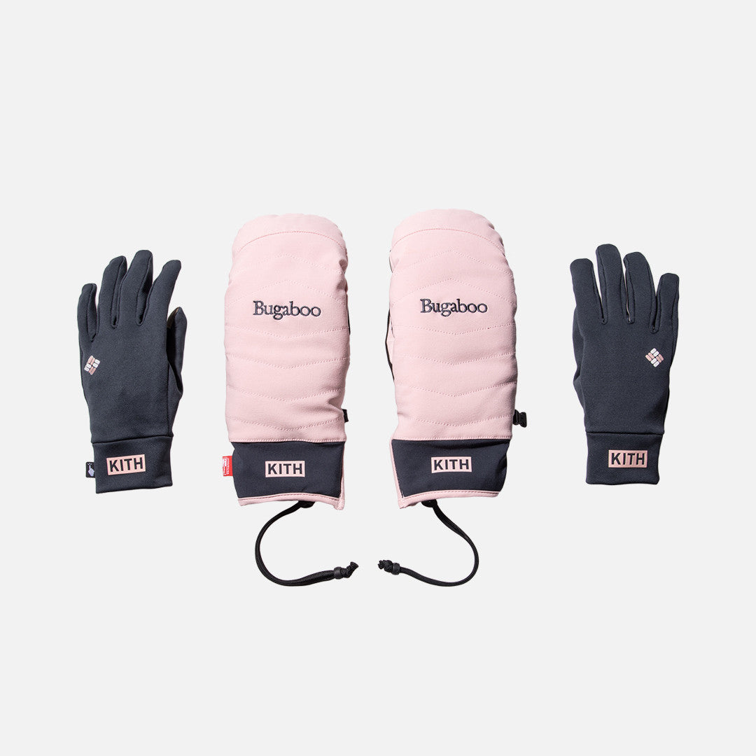 Kith x Columbia Sportswear Bugaboo Mittens - Superstorm