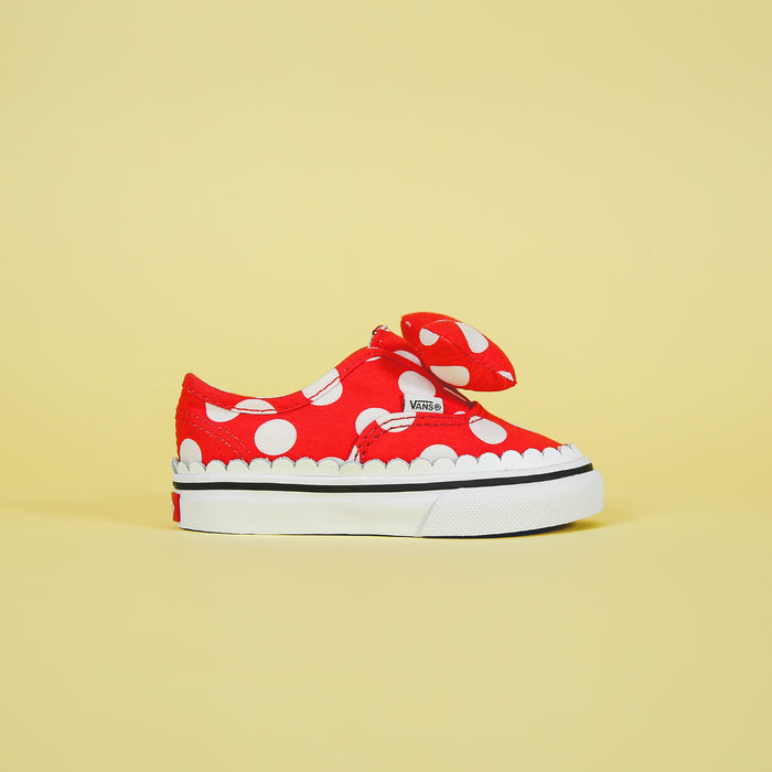 Vans x Mickey Mouse Authentic Gore - Minnie's Bow / True White