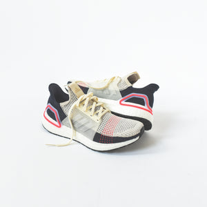 adidas UltraBoost 19 - Decode Clear Brown / White / Shock Red