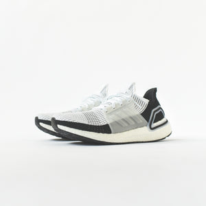 adidas UltraBoost 19 - White / Core Black / Grey Four