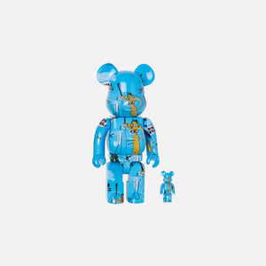 BearBrick Jean Michel Basquiat #4 100% + 400%