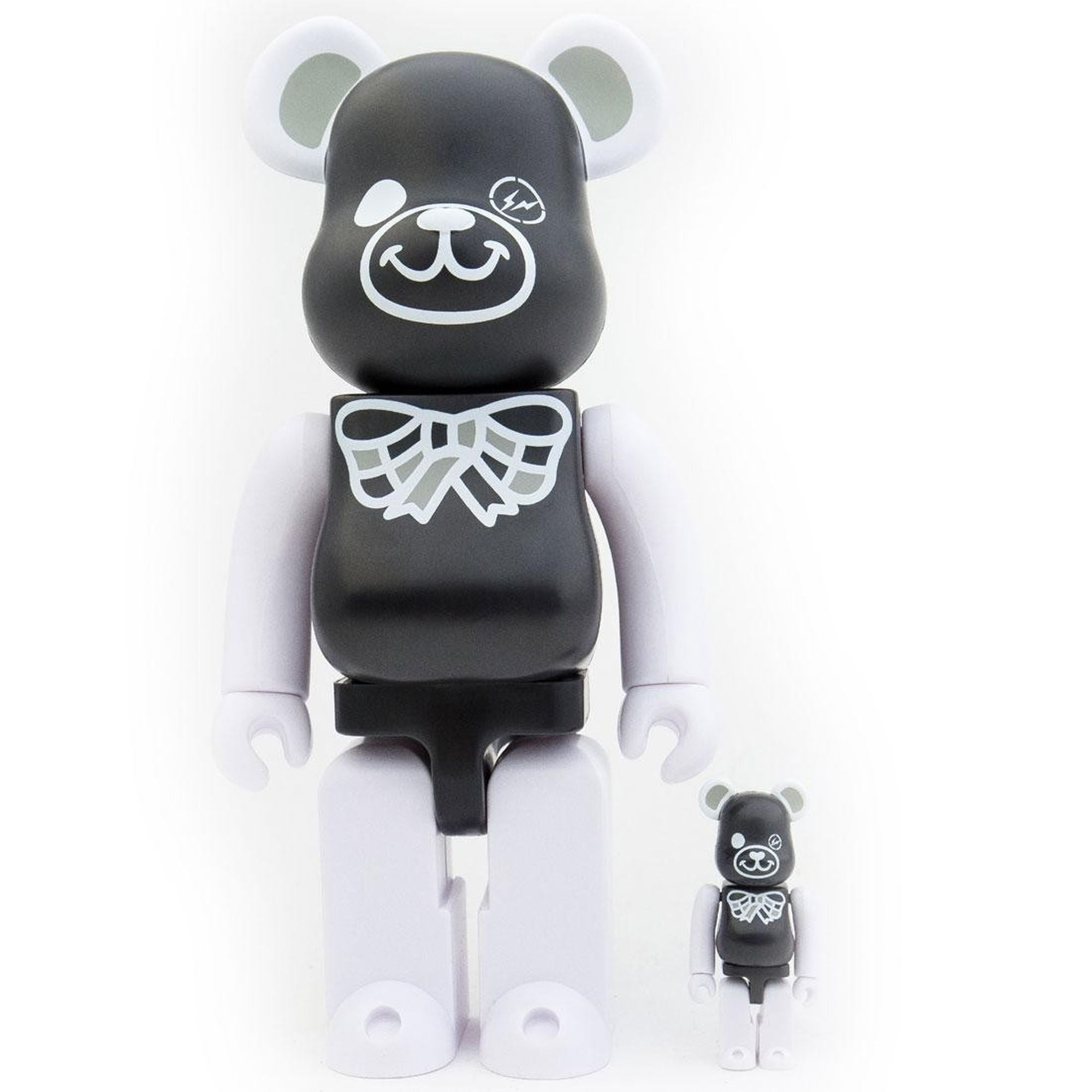 BearBrick Freemasonry x Fragment Design 100% + 400% - Black