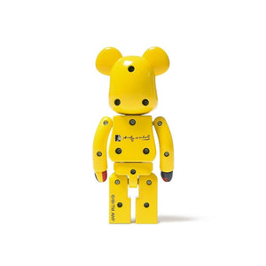 BearBrick Super Alloyed Andy Warhol Silkscreen 200 - Multicolor