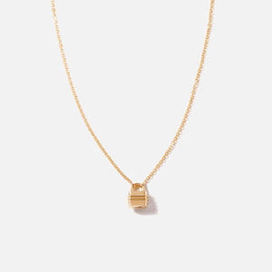 Bernard James 18in Chain w/ Lock Clasp - Gold
