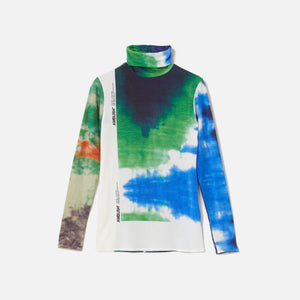 Ambush Tie Dye Print Turtleneck - Multi