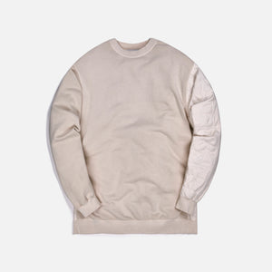 Ambush Mix Quilted Sweatshirt - White