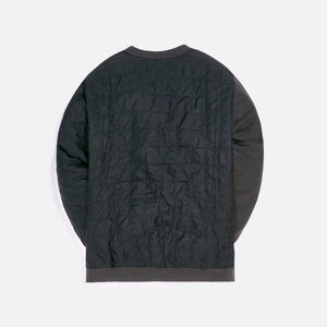 Ambush Mix Quilted Sweatshirt - Black