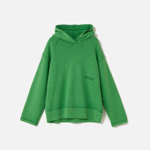 Ambush Raw Edge Hoodie - Green