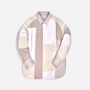 Ambush Patchwork Shirt - White / Multi