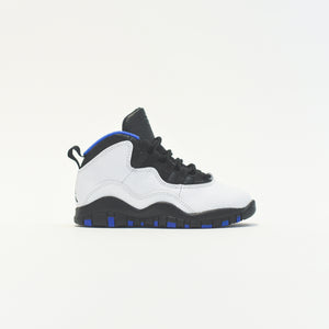 Nike PS Air Jordan 10 Retro - White / Black / Royal Blue