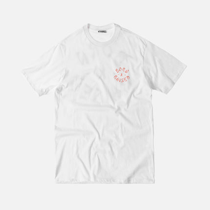 Born X Raised Westside Rocker Tee - White