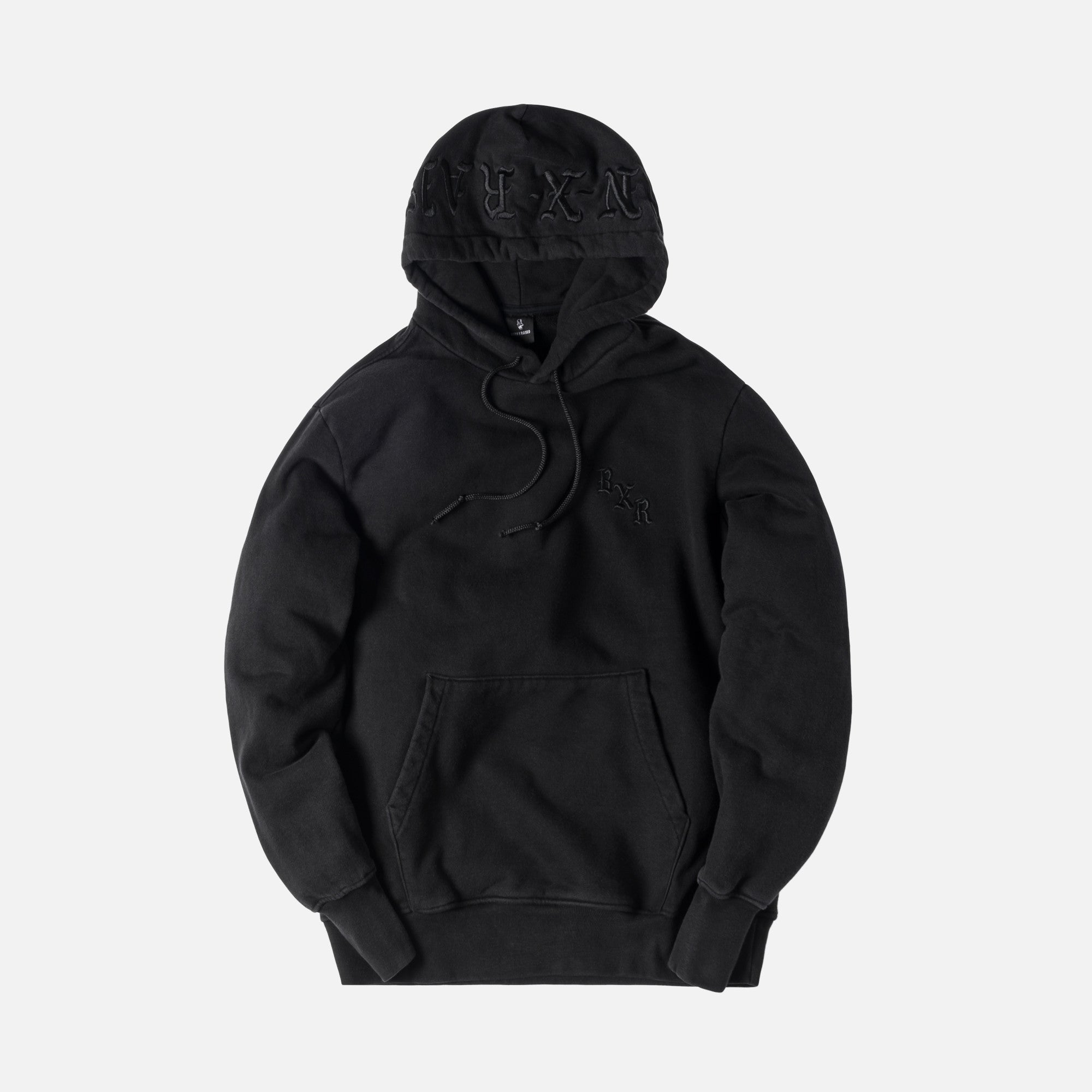 Born X Raised Tonal Hoodie - Black
