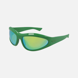 Bottega Veneta Racing Frame Mirror Lens - Green
