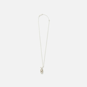Ambush Bunny Charm Necklace - Silver