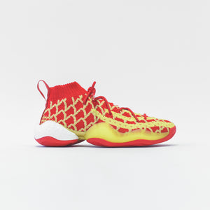 adidas x Pharrell Williams CNY BYW - Scarlet / Bright Yellow / Met Gold Image 1