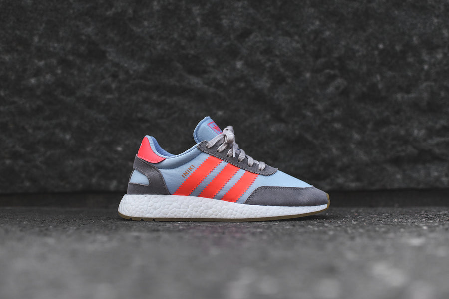 adidas Originals Iniki Runner - Grey / Turbo / Gum