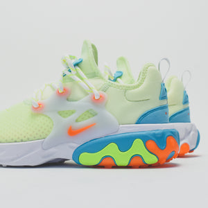Nike React Presto - Barely Volt / Hyper Crimson / Blue Gaze