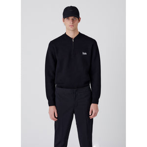 Kith Bayard Quarter Zip - Black