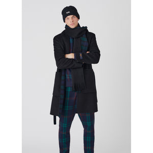 Kith Shawl Collar Becker Coat - Black Image 2