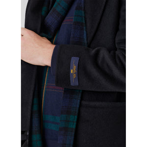 Kith Shawl Collar Becker Coat - Black Image 3