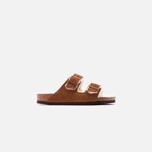 Birkenstock Arizona Shearling - Mink / Natural Image 1