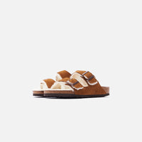 Birkenstock Arizona Shearling - Mink / Natural Thumbnail 1