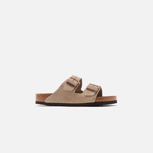 Birkenstock Arizona Soft Footbed Suede - Taupe