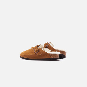 Birkenstock Boston Shearling - Mink / Natural