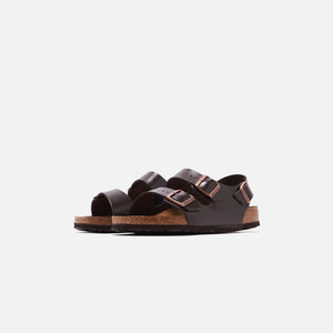 Birkenstock Milano Soft Footbed Amalfi Leather - Brown