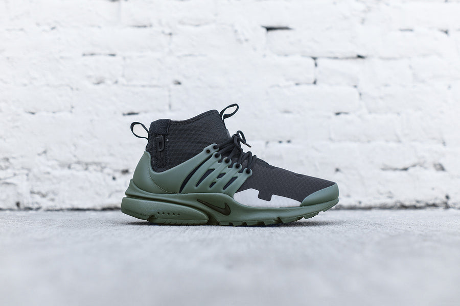 Nike Air Presto Mid SP - Black / Vintage Green / Silver