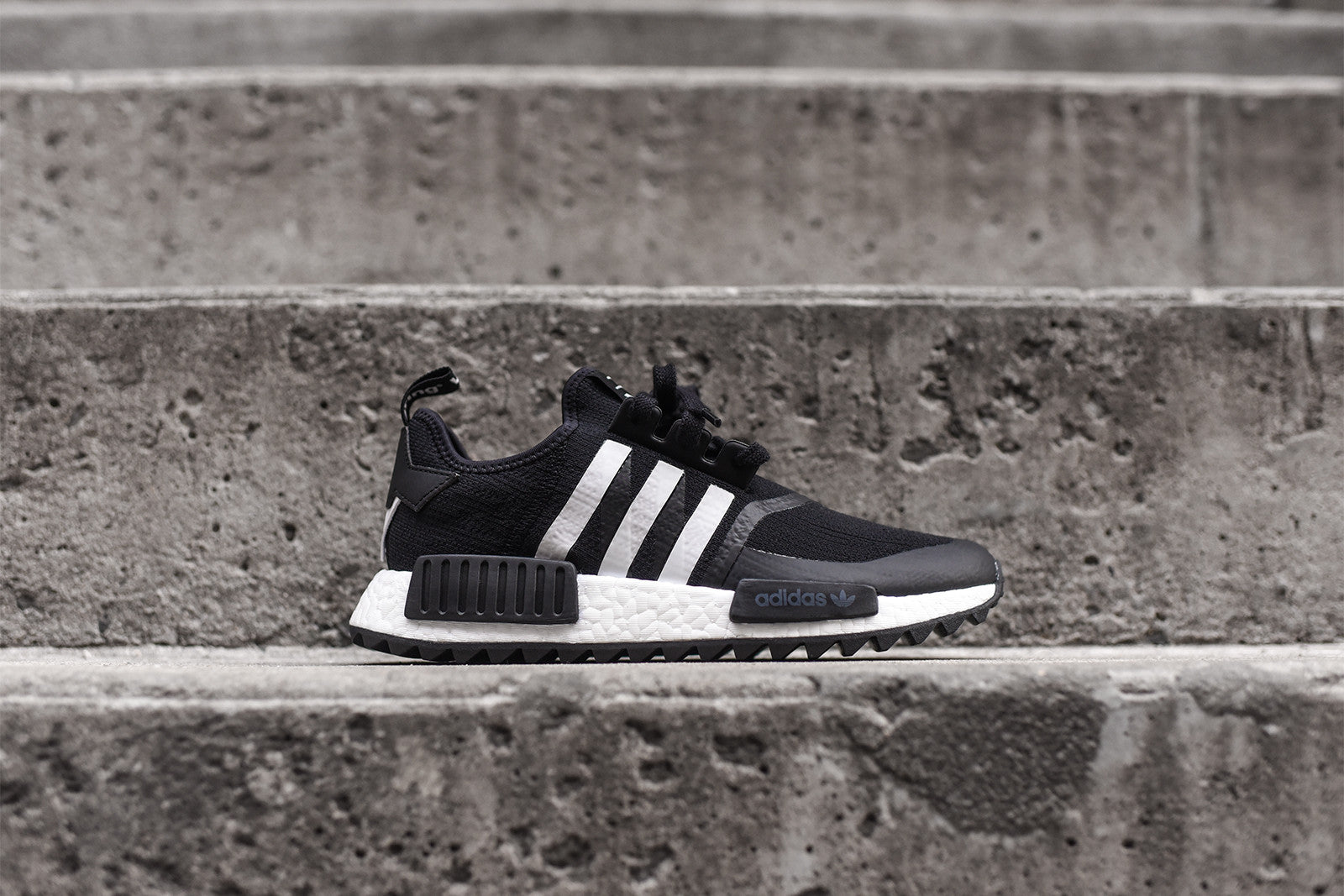 adidas x White Mountaineering NMD R1 Trail - Black / White