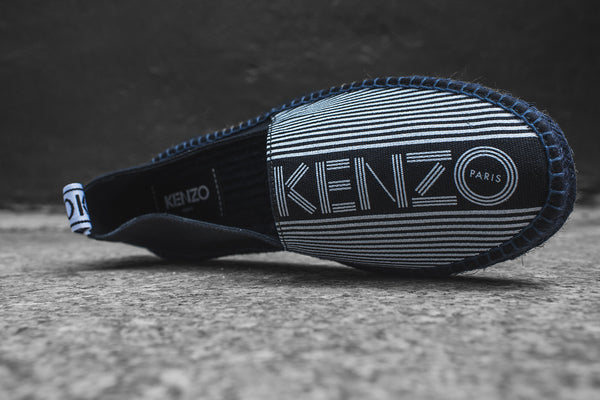 Kenzo Stanley Slip-On - Black / White