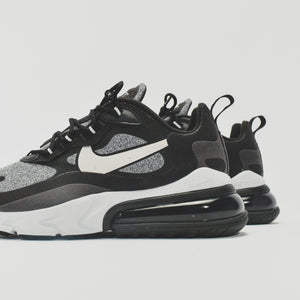 Nike Air Max 270 React - Black / Vast Grey / Off Noir