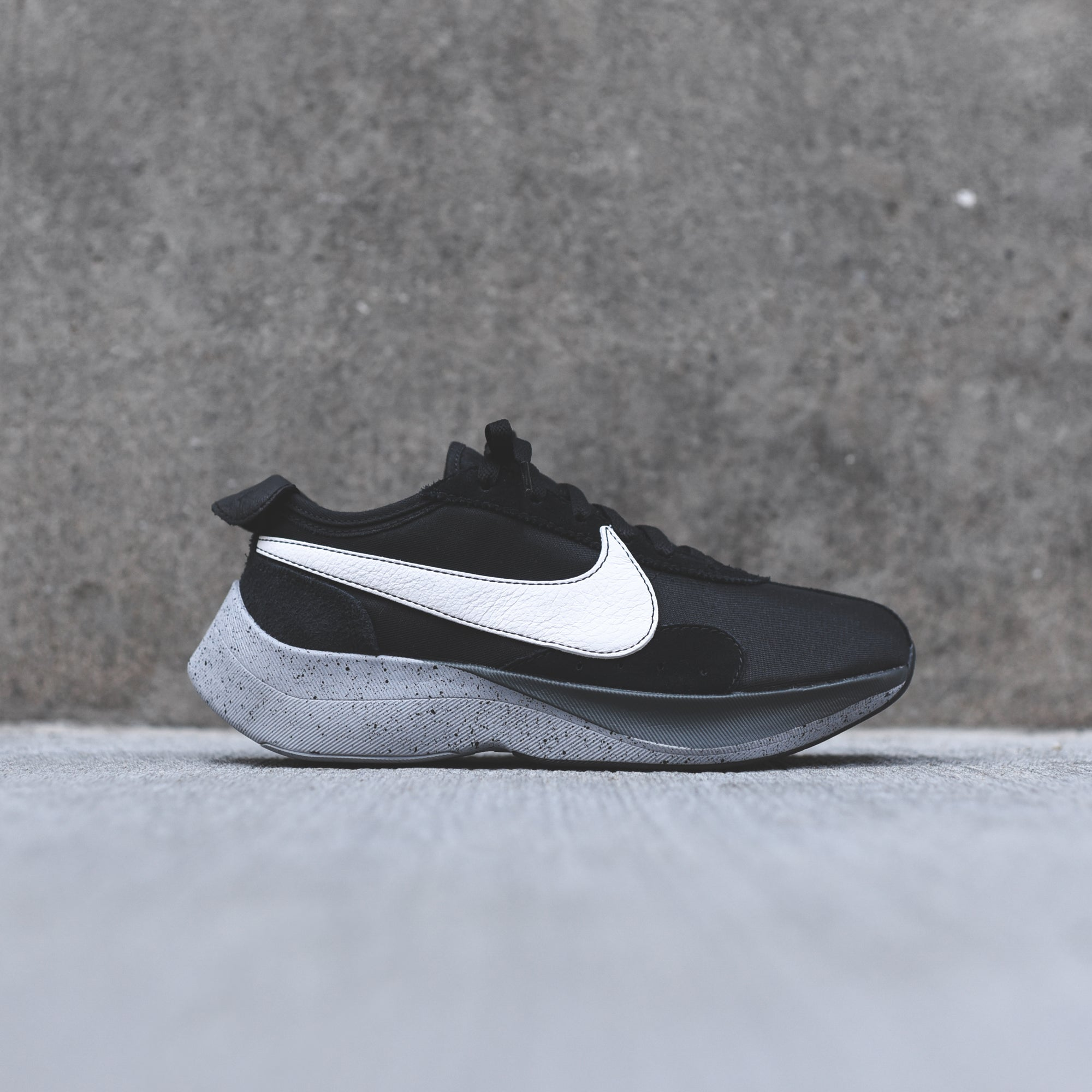 Nike Moon Racer - Black   White   Wolf Grey   Dark Grey – Kith e30110183f