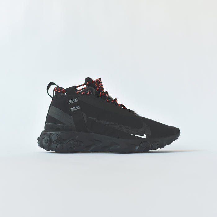 Nike React Runner Mid WR ISPA - Black / White / Crimson